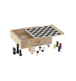 WoodGame 5-in-1 spel 4353