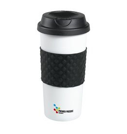 Thermo mok relatiegeschenk HeatCup 450 ml thermosbeker 4369