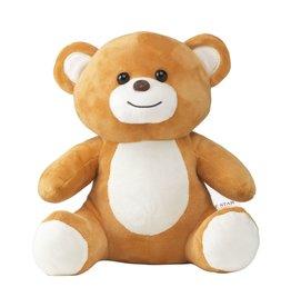 Relatiegeschenk bedrukken Billy Bear Big Size knuffel 5372