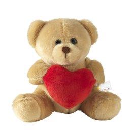 Relatiegeschenk bedrukken With Love Bear beer knuffel 5392