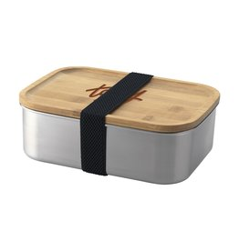 Relatiegeschenk bedrukken Valdi RVS Lunchbox 5721