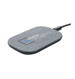 Opladers bedrukken Paxton RPET wireless charger 10W draadloze oplader 6482