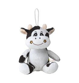 Relatiegeschenk bedrukken Animal Friend Cow knuffel 6934