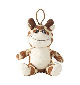 Relatiegeschenk bedrukken Animal Friend Giraffe knuffel 6936