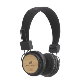 ECO Bamboo wireless headphone koptelefoon 8014