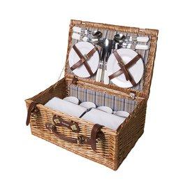 Relatiegeschenk bedrukken QualityTime picknickmand 8890