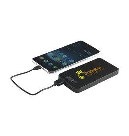 Relatiegeschenk bedrukken Solar Powerbank 4000 powercharger CL0754
