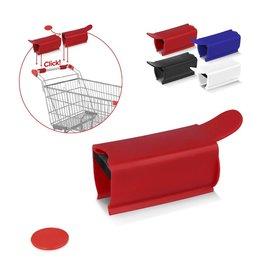 Corona preventie gerelateerde relatiegeschenken Anti-bacteriële winkelwagen clip
