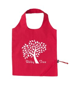 Opvouwbare boodschappentas relatiegeschenk Strawberry Cotton opvouwbare tas CL0784