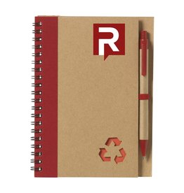 Notitieboekjes bedrukken Notitieboekje recyclenote L