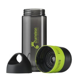 Waterflessen relatiegeschenk Waterfles BottleBeatz Tritan 2-in-1 500 ml met speaker