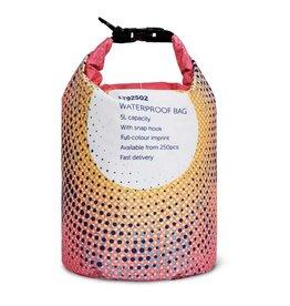 Strandtassen relatiegeschenk Custommade waterafstotende tas 5L