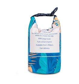 Strandtassen relatiegeschenk Custommade waterafstotende tas 2,5L