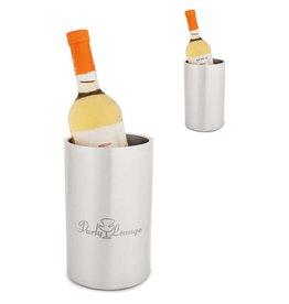 Wijn accessoires relatiegeschenk Wijnkoeler metaal