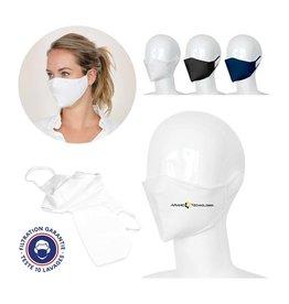 Corona preventie gerelateerde relatiegeschenken Herbruikbaar 2-laags mondkapje met anti-bacterieel filter, gecertificeerd voor Frankrijk (UNS1)