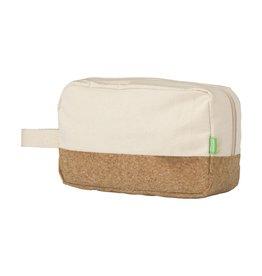 Toilettassen relatiegeschenk Toilettas  ECO Cork Cosmetic Bag