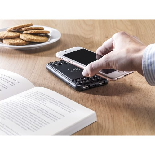 Powerbank relatiegeschenk Octopus Wireless Powerbank 4000 externe oplader CL0753