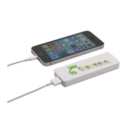 Powerbank bedrukken Powerbank 2500 externe oplader CL0748