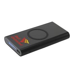 Powerbank bedrukken Wireless Powerbank 8000 C draadloze oplader CL0604