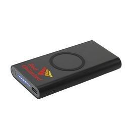 Powerbank relatiegeschenk Wireless Powerbank 8000 C draadloze oplader CL0604