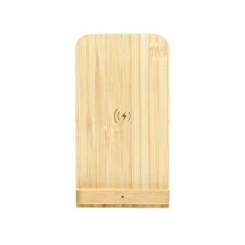 Opladers relatiegeschenk Baloo 10W telefoonhouder draadloze oplader 6426