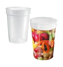 Mokken bedrukken als relatiegeschenk Drinking Cup Deposit drinkbeker  4217