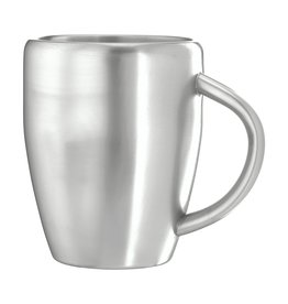 Mokken bedrukken als relatiegeschenk SteelMug 220 ml beker 4580