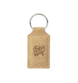 Sleutelhangers relatiegeschenk Cork Key Ring sleutelhanger 1340