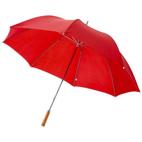 "Stormparaplu relatiegeschenk Karl 30"" golfparaplu met houten handvat"