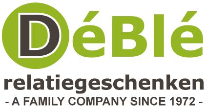 DéBlé Relatiegeschenken bedrukken wij sinds 1972