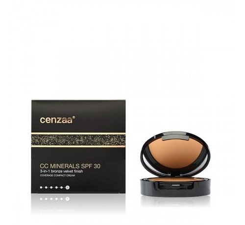 Cenzaa CC Minerals Cream SPF30