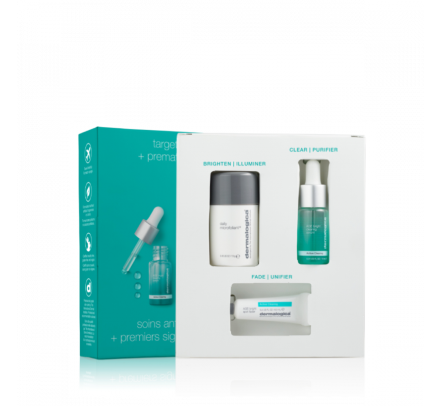 Dermalogica Clear+ Brighten Skin Kit