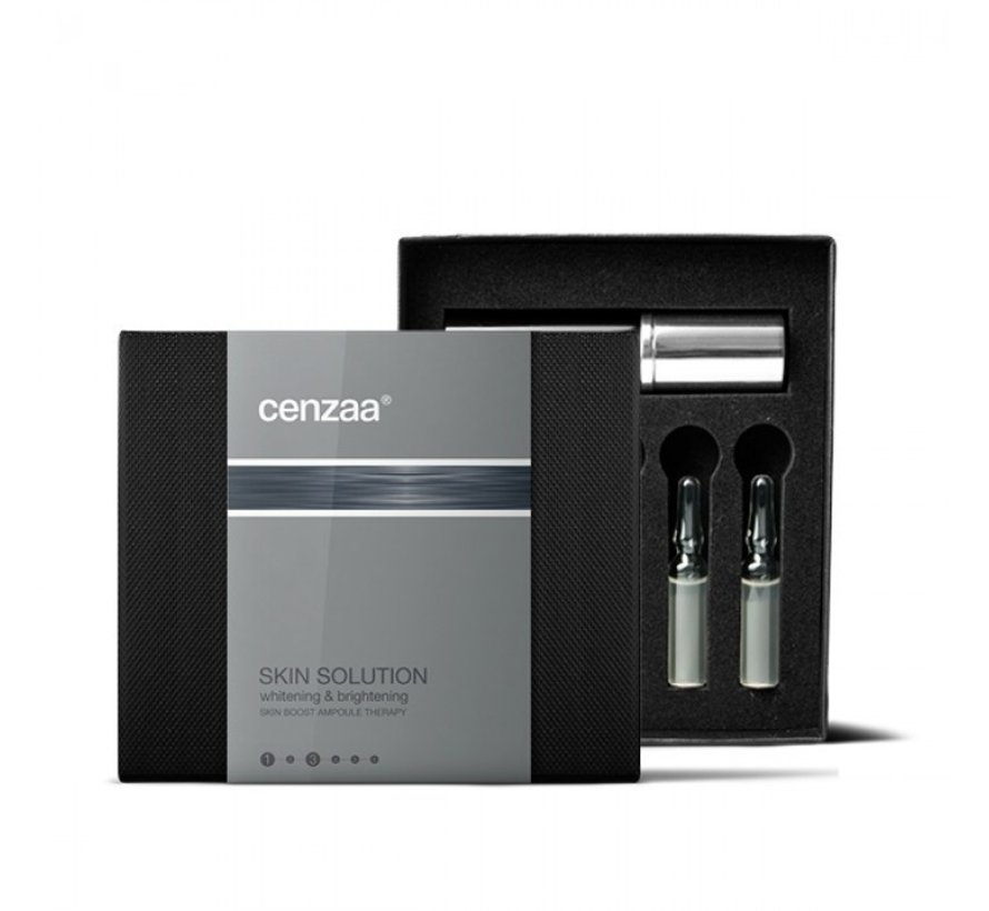 Cenzaa Skin Boost Ampoule Therapy Whitening & Brightening