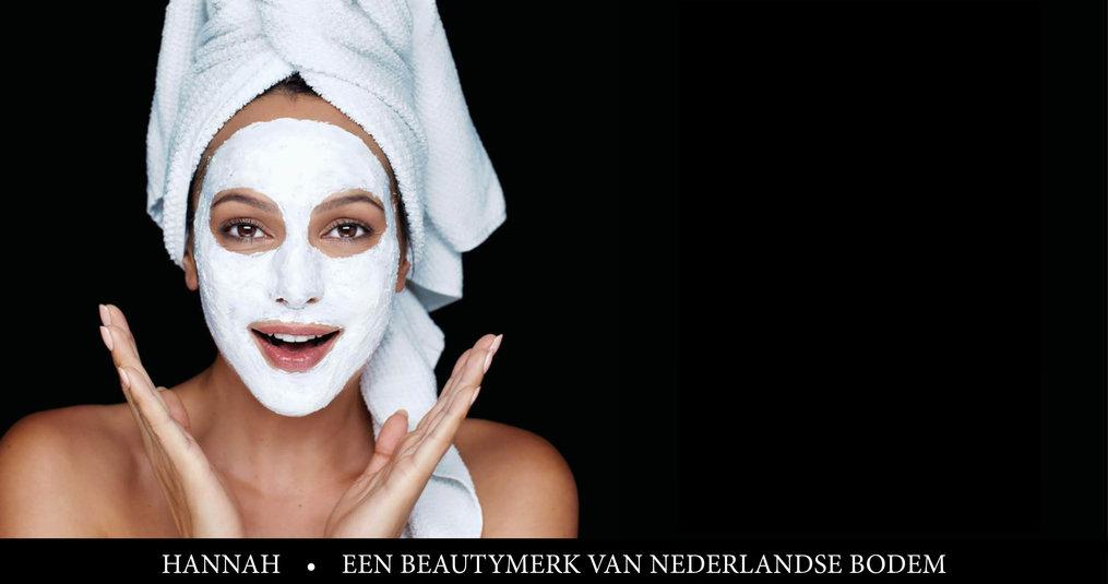 hannah producten - een Nederlands beautymerk