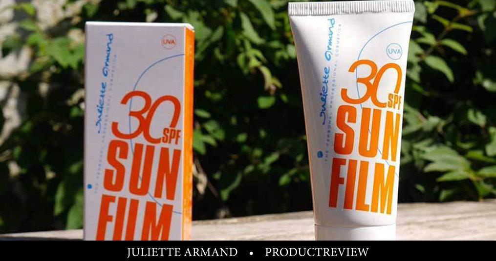 Review: Juliette Armand Sunfilm Face Gel