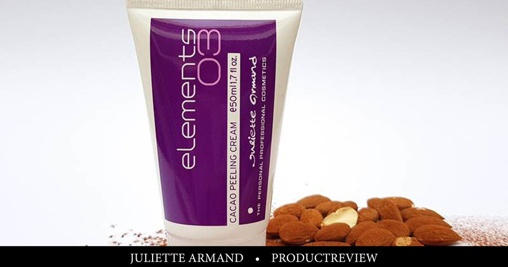 Review: Juliette Armand Cacao Peeling Cream