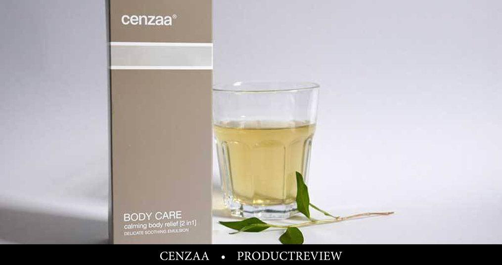Review: Cenzaa Calming Body Relief