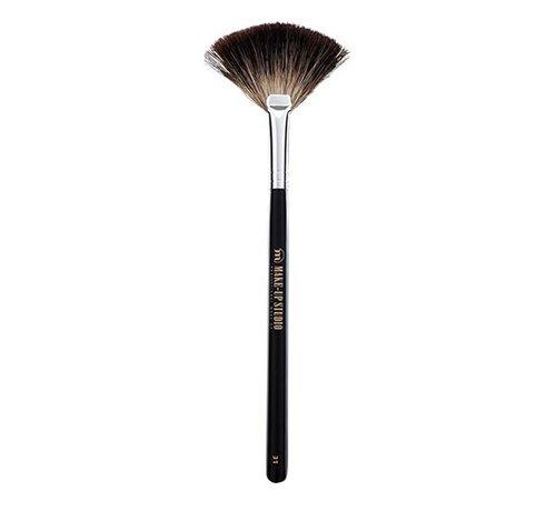 Make-Up  Studio Make-Up Studio Nr. 31 Waaierpenseel Dashaar