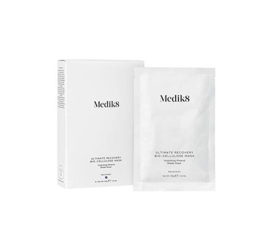 Medik8 Ultimate Recovery Bio-Cellulose Mask 6x 30gr