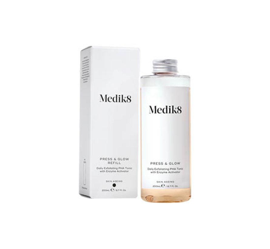 Medik8 Press & Glow Toner Refill 200ml