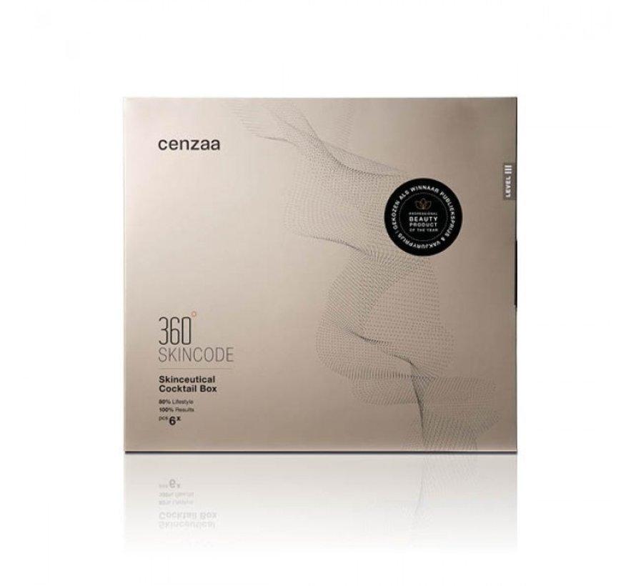 Cenzaa 360 Skincode Vit-C Cocktail Box 30ml/75ml