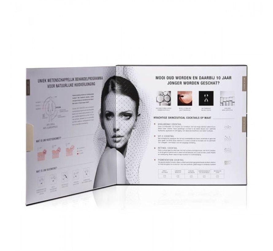 Cenzaa 360 Skincode Hyaluronic Cocktail Box 30ml/75ml