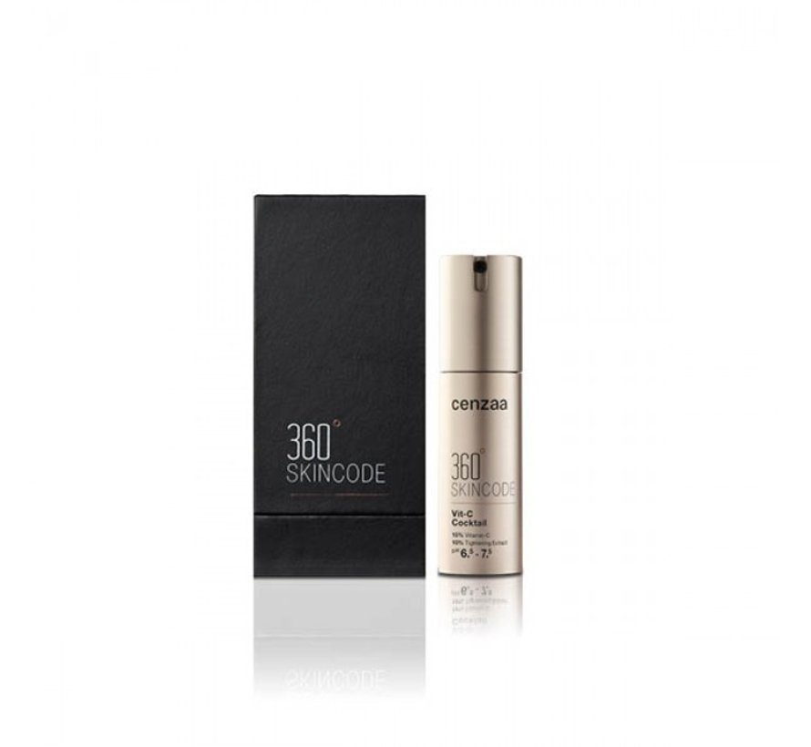 Cenzaa 360 Skincode Vit-C Cocktail 30ml