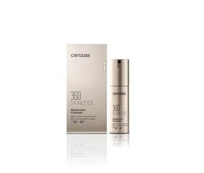 Cenzaa Cenzaa 360 Skincode Hyaluronic Cocktail30ml