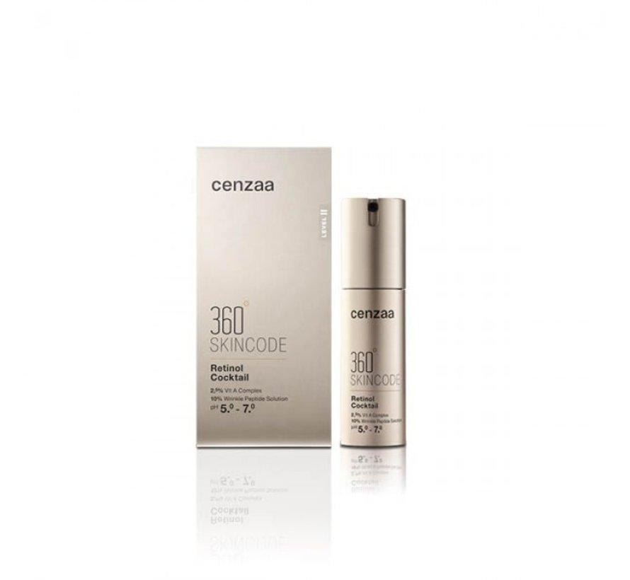 Cenzaa 360 Skincode Retinol Cocktail 30ml