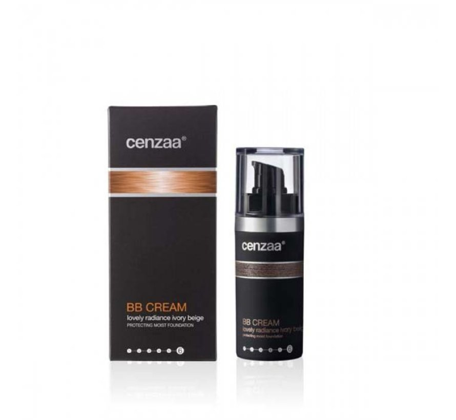 Cenzaa Cenzaa Lovely Radiance Ivory Beige 30ml
