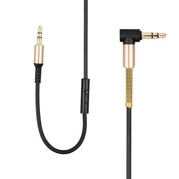 Hoco Hoco Aux Spring Audio Cable with Mic (2M)