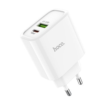 Hoco Hoco dual port speed charger USB-C & USB-A