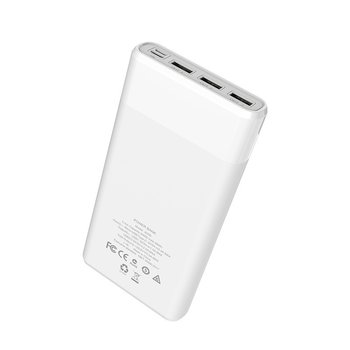 Hoco Hoco Powerbank 3x USB Outlet 30.000mAh White