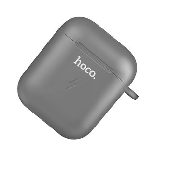 Hoco Hoco Wireless Charging Case for AirPods 1 & 2 - Black